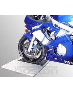 Motorcycle brake tester accessory