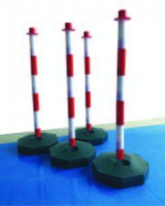 EHV safety barrier poles