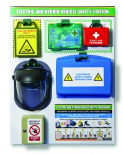 EHV First Aid and PPE shadow board