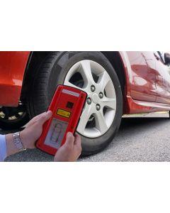 T-Scan Groove Glove tyre tread reader