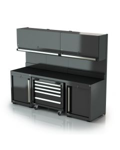 DEA fitted cabinets combination 2b