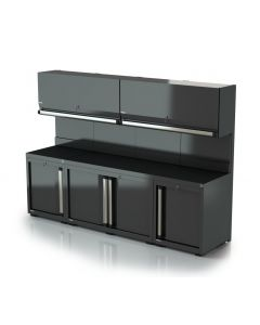 DEA fitted cabinets combination 1b