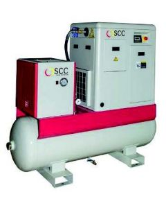 SCC Smart 4 Rotary Screw Air Compressor, Dryer & Filters