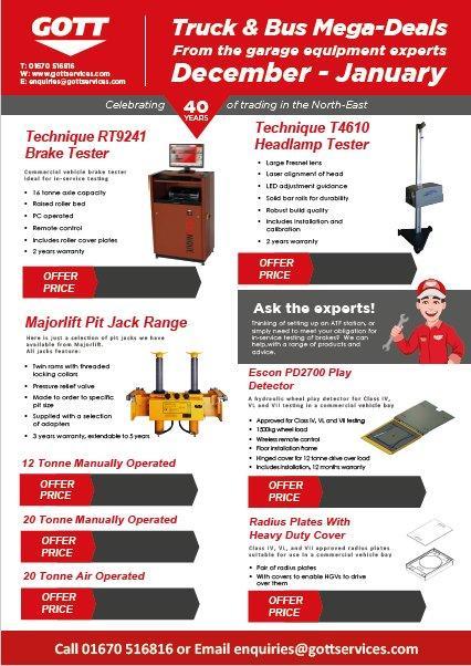 Garage Equipment Mega-Deals Launched!